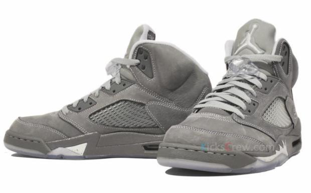 grey jordan 5